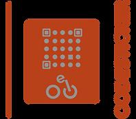 Der E Bike Code Aufkleber zur Registrierung deines Fahrrades zeigt dem Dieb, dass es registriert ist und der Missbrauch zur Anzeige und strafrechtlichen Folgen führen wird