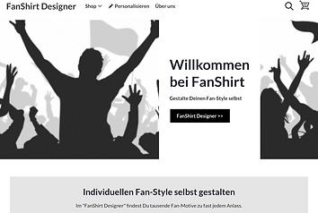 FanShirt Designer - eine Alternative zu den offiziellen Fan-Shops und Merchandising-Stores