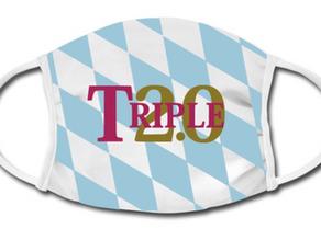 FAN T-SHIRT VOM TRIPLE SIEGER 2020 FC BAYERN MÜNCHEN - CHAMPIONS LEAGUE SIEG - TRIPLE 2.0