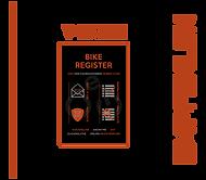 Die Visitenkarte des Bike-Registers zum Weiterempfehlen