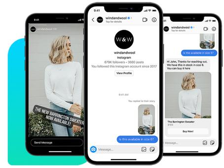 Messenger API for Instagram
