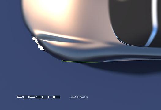 A conscious EV auto sports Concept, Porsche Electric future Cars. Concept porsche 914, Green future cars