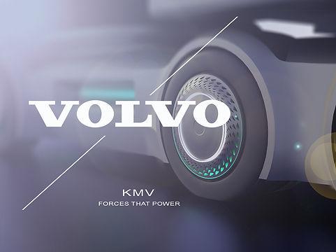 Volvo future Truck, Autonomous tractor trailer drone concept, Volvo future