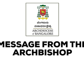 Message from Archbishop Regarding Opening of Churches and Chapels from 21st September.