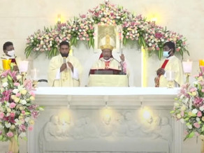 Archbishop Peter Machado inaugurates Church dedicated to St. Ann at Marathalli