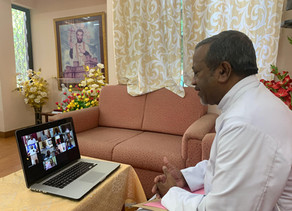 Bengaluru Archdiocese hosts Video Conference with Deans for Rapid Relief Work