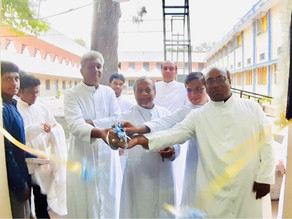 A new residence inaugurated for undergrad seminarians of the Archdiocese