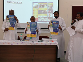 Archdiocese of Bangalore launches Mobile App to bring Church life Closer to the People of God!