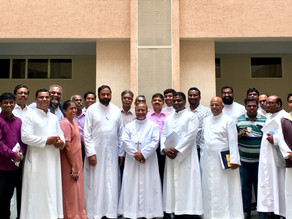 Archbishop holds a meet with the new archdiocesan commission secretaries & other office bearers.