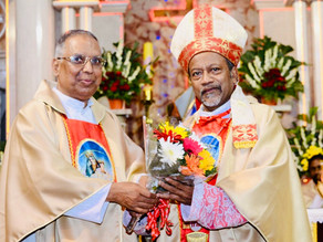 Fr. Martin Kumar appointed Rector & Parish Priest of St. Mary's Minor Basilica