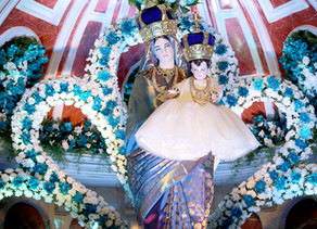 Check out the splendid photo shots of St. Mary's Basilica: Novena and the Feast