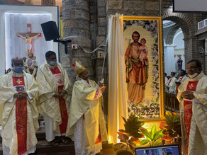 Solemn Inauguration of the Year of St. Joseph in Bengaluru Archdiocese