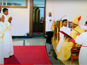 Bengaluru Archdiocese is gifted with two new priests amidst Corona Lockdown!