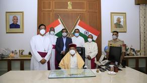 Christian Leaders Greet the New Karnataka Governor
