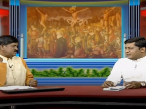 Good Friday Live Program on DD Chandana: tête-à-tête with Rev. Fr. Sebastian