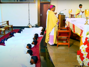 12 New Deacons to the Archdiocese of Bangalore