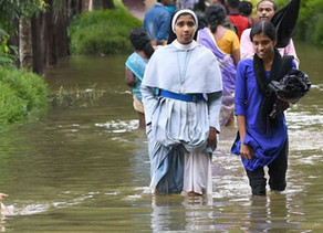 Archbishop and team visit flood-ravaged Kodagu
