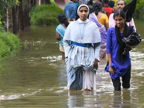 Archbishop and team visit flood-ravaged Kodagu
