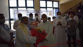 Archbishop Peter Inaugurates 100-bed Covid Care Centre