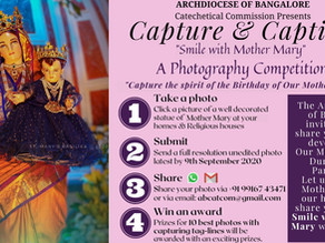 Smile with Mother Mary: A Photography Competition