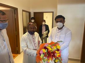Christian Hospital Management Meets Minister
