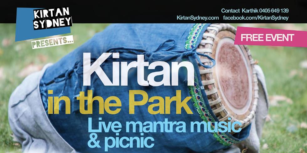Kirtan in the Park - August