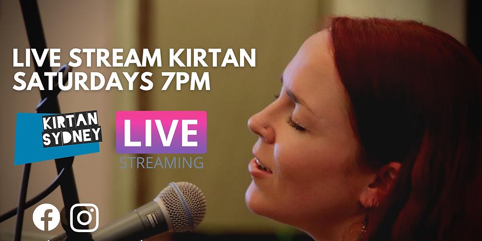 Saturday Night Live Stream Kirtan (Mantra Meditation)