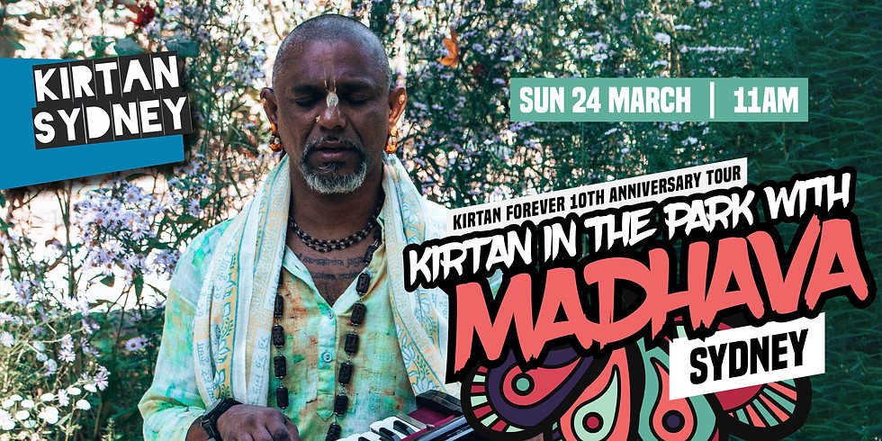 Special Event: Kirtan in the Park with Madhava