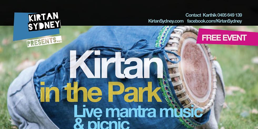 Kirtan in the Park - June