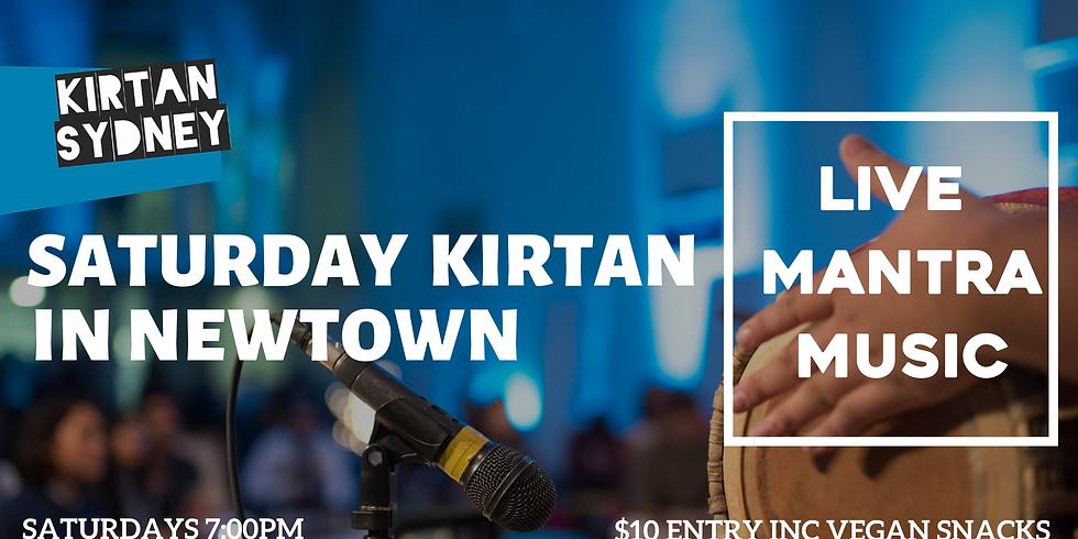 Weekly Saturday Kirtan in Newtown