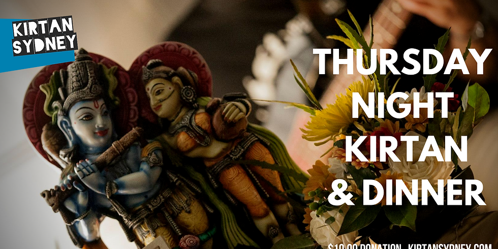 Thursday Night Kirtan & Dinner @ Bhakti House