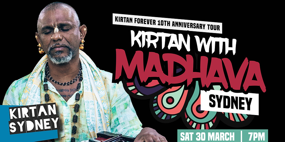 Special Event: Kirtan with Madhava   Newtown