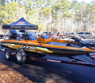 Boat Wrap for Boost Mobile