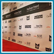 Step & Repeat Backdrops / Event Backgrounds
