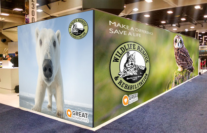 Trade Show Booth Wall Graphics