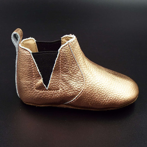 Leather Chelsea Boot - Rose Water