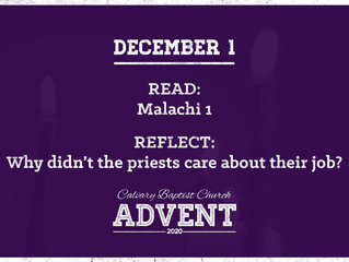 Advent Devotional   December 1