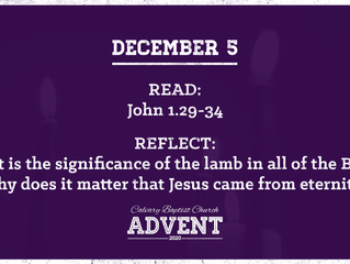 Advent Devotional | December 5