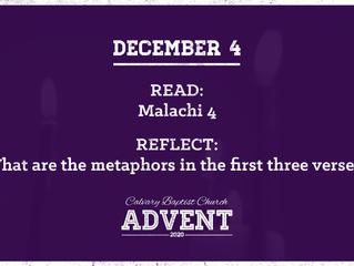 Advent Devotional   December 4