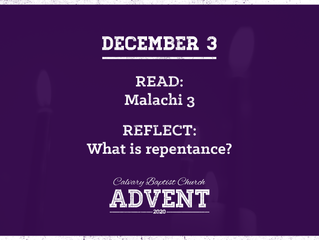 Advent Devotional   December 3