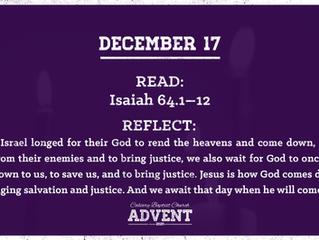 Advent Devotional | December 17