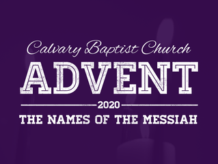 Entering the Season of Advent