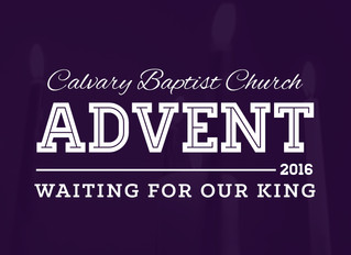 Advent Devotional: Week Four - Saturday