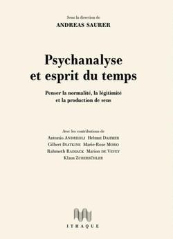Psychanalyse et esprit du temps