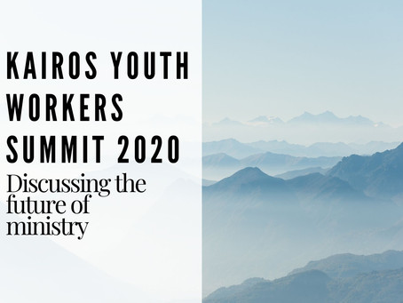 Kairos' Youth Workers Summit 2020