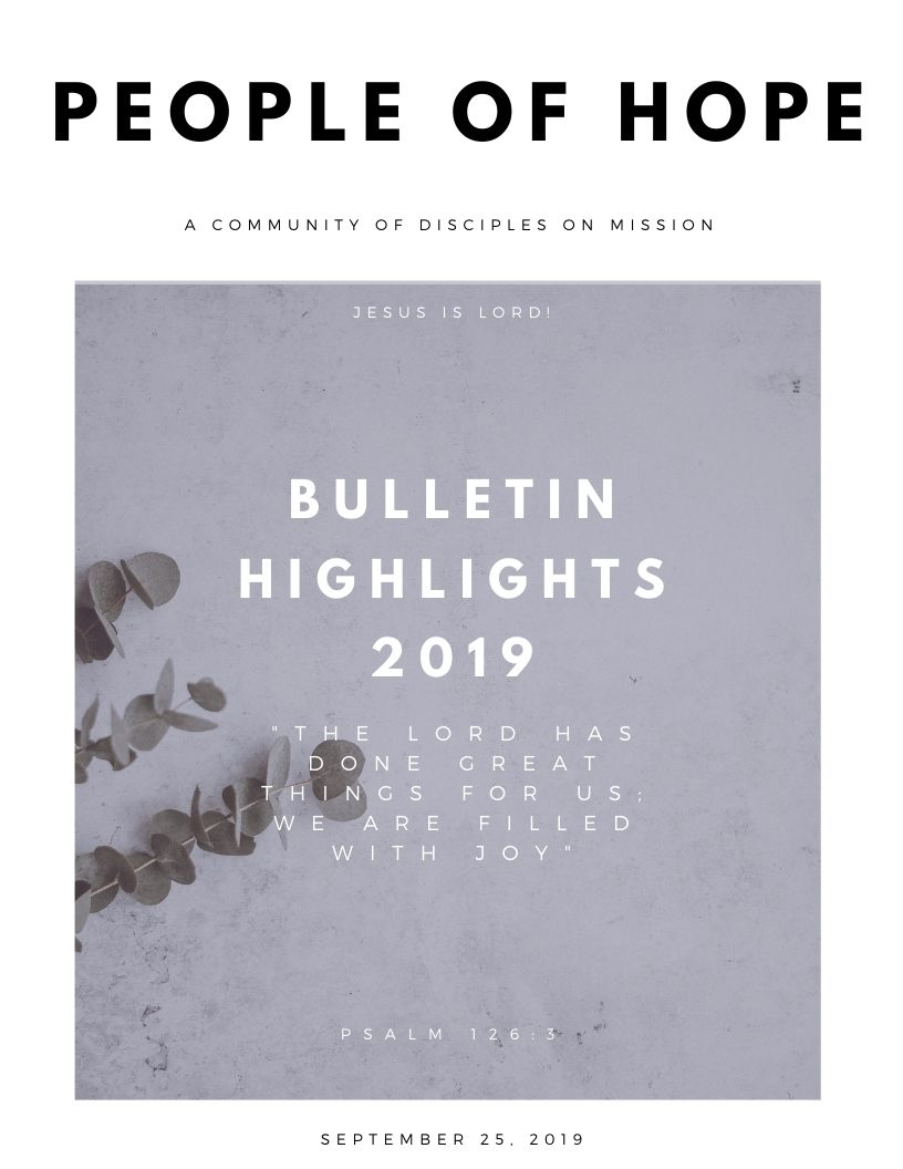 BULLETIN HIGHLIGHTS 2019 (1)