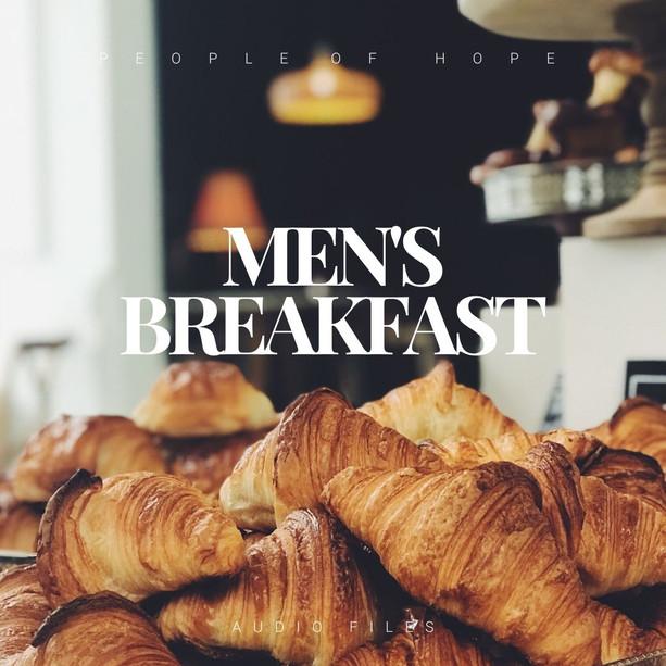Men's Breakfast Audio