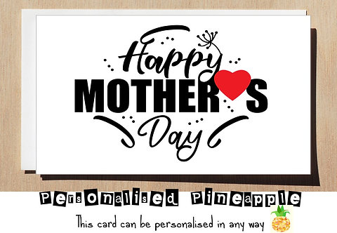 MOTHER'S DAY CARD - HAPPY MOTHERS DAY