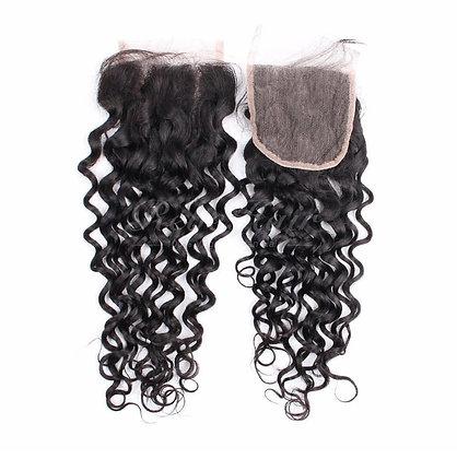 HAIRporrn Closure in Kinky Curls