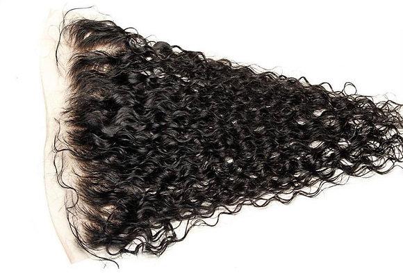 HAIRporrn Frontal in Kinky Curls